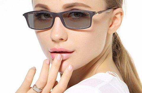 Fényre sötétedő, UV szűrős szemüveg készítése