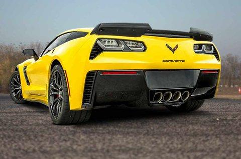 650 LE-s Chevrolet Corvette C7 vezetés 5 körön át