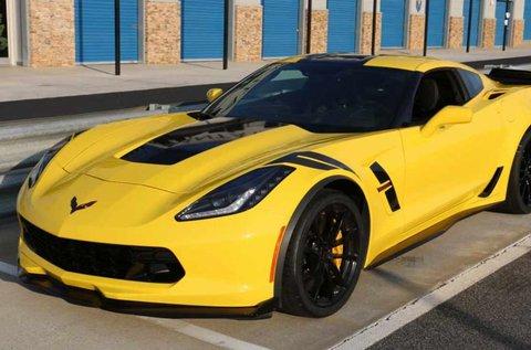 Száguldj egy 650 lóerős Chevrolet Corvette C7-tel!