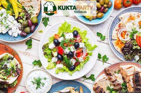Görögbe kóstolva főzőkurzus alapanyagokkal