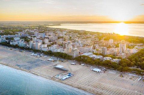 8 napos vakáció teljes ellátással Lignanóban