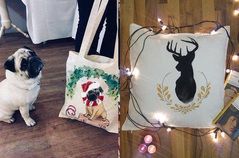 Kreatív táska- vagy párnafestés workshop