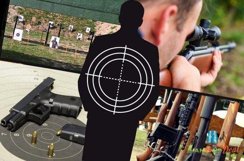 50 lövés 10 féle 9 mm-es fegyverrel Ráckevén