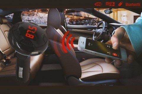 Szivargyújtós CARQ8 Bluetooth transzmitter