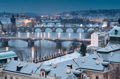 3 napos téli lazítás a mesés Prágában, hétvégén is