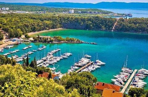 8 napos nyári napfürdőzés a festői Krk-szigeten
