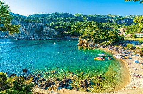 1 hetes vakáció a smaragdzöld Korfu szigetén