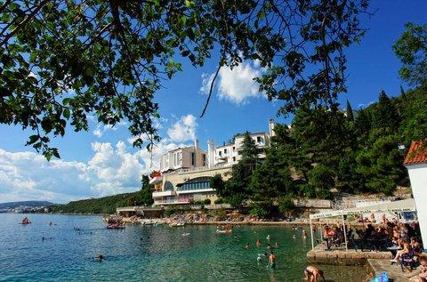 5 napos fürdőzés a Dubno-öböl közelében
