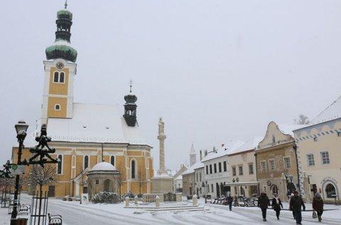 Romantikus téli hétköznapok Kőszegen