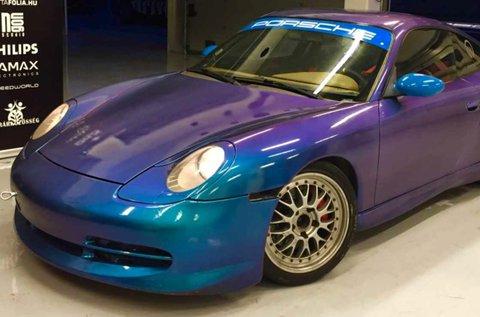 Porsche 911 versenyautó vezetés 6 körön át