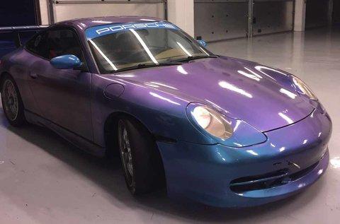 Porsche 911 versenyautó vezetés Kakucson