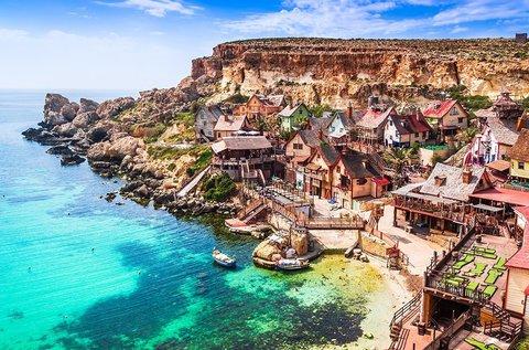Villámnyaralás a napsütéses Máltán repülővel