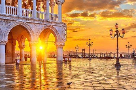 Látogatás a gondolák földjén, Velencében