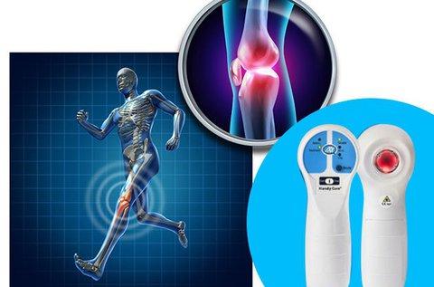 Gyulladások, fájdalmak enyhítése lágy lézerrel