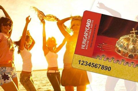HungaryCard Basic 2020 kedvezménykártya
