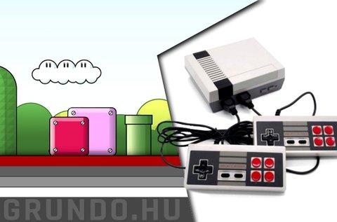 Mini retró játékkonzol 620 féle klasszikus játékkal