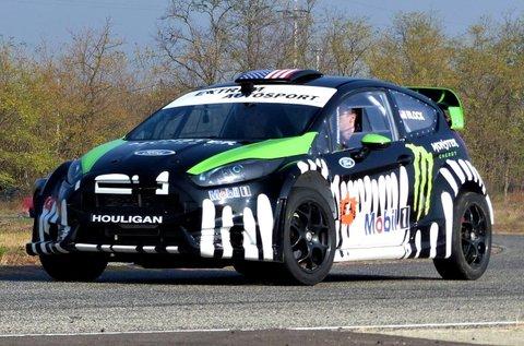 450 LE-s Ford Fiesta rallyautó vezetés