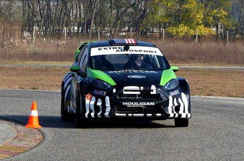 Vezess egy Ford Fiesta rallyautót 5 körön át!