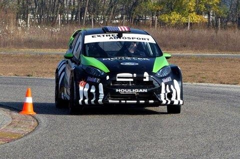 Vezess egy Ford Fiesta rallyautót 8 körön át!