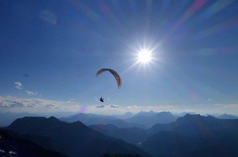 Hétvégi siklóernyős oktatás a Budai-hegyekben