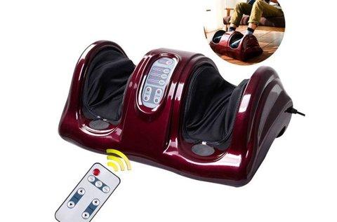 Elektromos lábmasszírozó távirányítóval