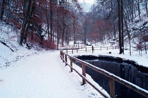 Téli lazítás a Bükk-hegység nyugati lábánál