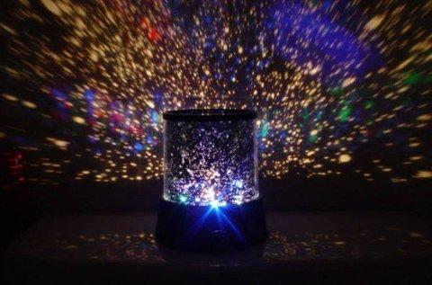 Hangulatos Star Master csillagkivetítő éjszakai fény
