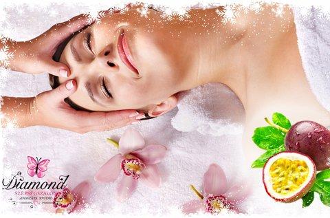 Kozmetikai arctisztítás 90 perces testmasszázzsal