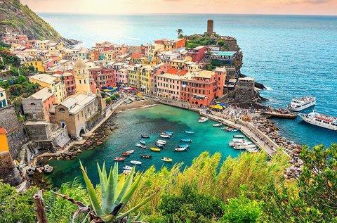 Buszos körutazás a Ligúr-tenger legszebb tájain