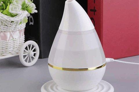 Ultrahangos párologtató fehér színben