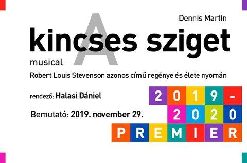 A kincses sziget musical a Pesti Magyar Színházban