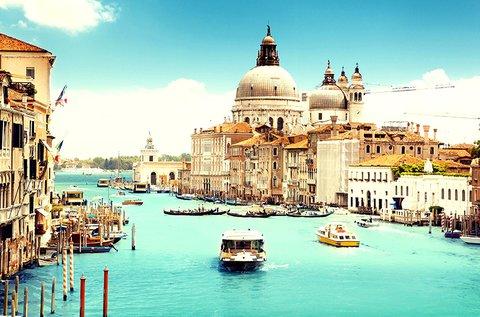 Romantika a gondolák városában, Velencében
