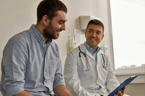 Ultrahang szűrőcsomag férfiaknak lelettel