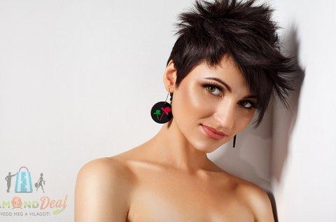 Női hajvágás szárítással, minden hosszra