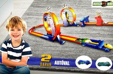 Kutch Wheels versenypálya 2 db 360 fokos hurokkal