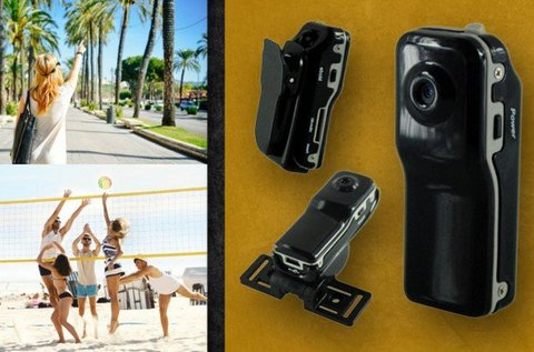 Ultramini sport kamera akasztópánttal