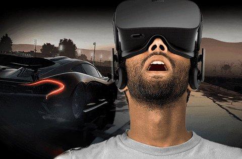 1 órás VR autóversenyzés 1-4 fő részére