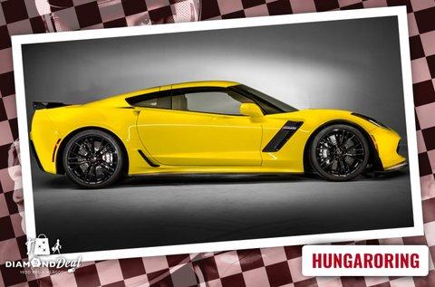 Chevrolet Corvette vezetés a Hungaroringen