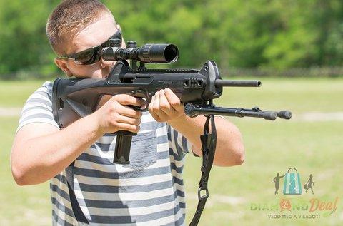 Próbáld ki a lövészetet egy valódi fegyverrel!