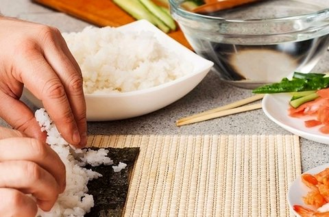 3 órás sushi készítő workshop receptkönyvvel