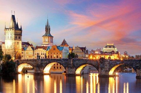 3 napos téli látogatás a száztornyú Prágában