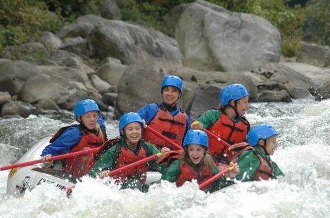 Kanyoning és rafting kaland Szlovéniában