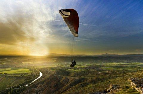 Tandem siklóernyőzés ajándék full HD videóval