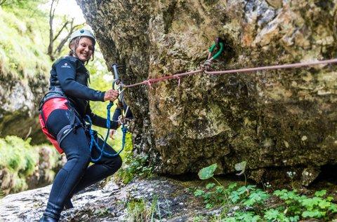 Kanyoning túra 2 főnek felszereléssel Szlovákiában