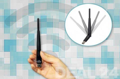 Internetezz kábelek nélkül USB-s WiFi antennával!