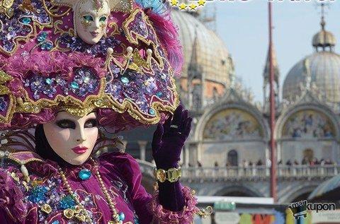 Februári látogatás a mesés Velencei Karneválon