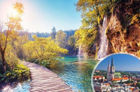 Húsvéti hosszú hétvége a festői Plitvicei-tavaknál