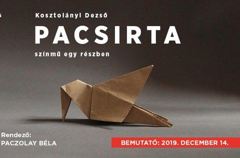 Pacsirta című színmű a Pesti Magyar Színházban