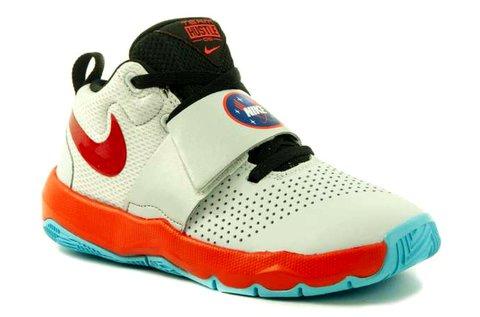 Nike Team Hustle D8 Sd GS sportcipő fehér színben