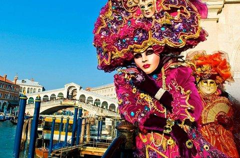 Látogass el februárban a Velencei Karneválra!